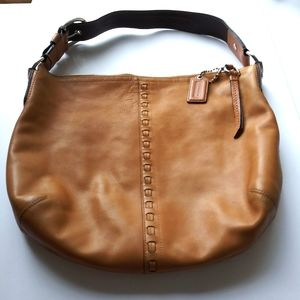Coach Camel Leather Bag